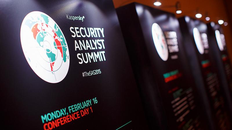 Kaspersky Security Analyst Summit, 2015