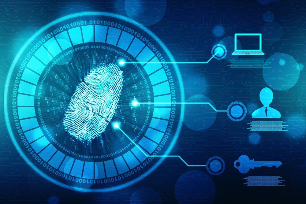 Abstract-fingerprint-scanning-technology