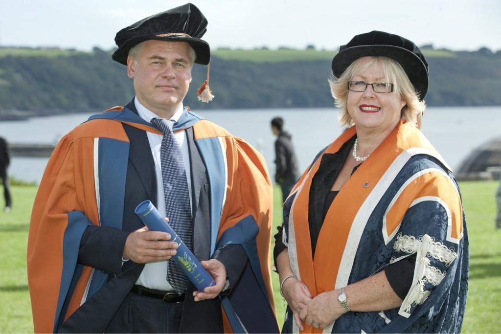 Honorary Doctorate of Technology