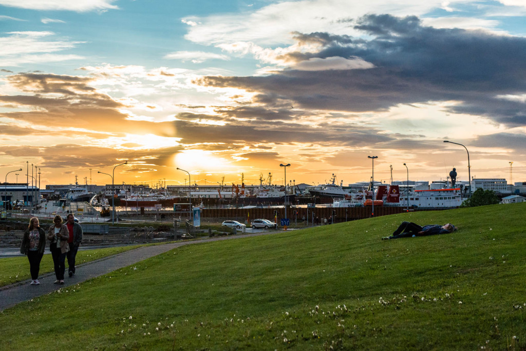 Reykjavik has a population of around 120,000 (and over 200,000 in the Capital Region)