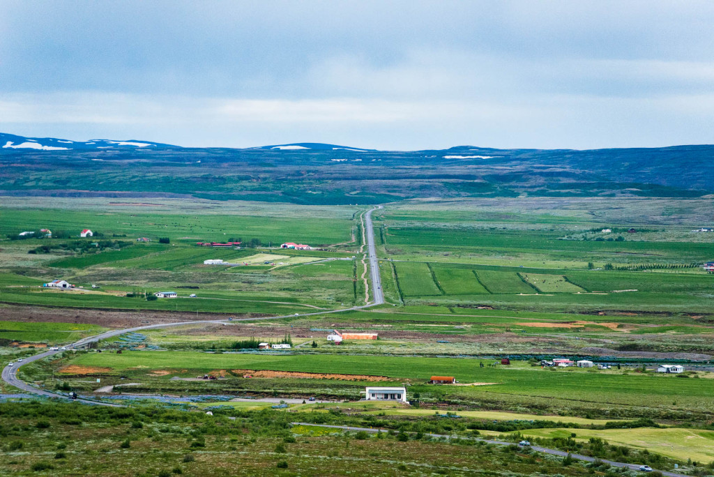 The Ring Road's total length is 1,332 kilometres (828 mi)